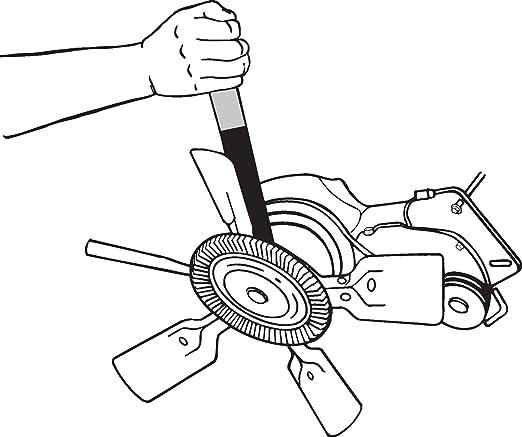 Amazon Com Lisle 44180 Fan Clutch Spanner Wrench Automotive