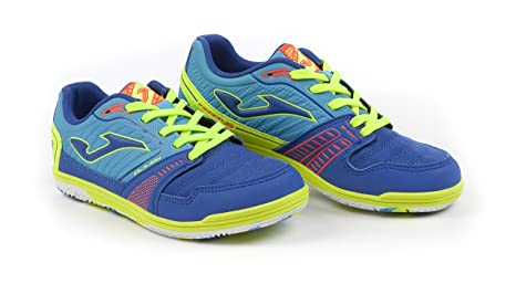 Joma Calcetto Sala Max Jr 604 Blue-Turquoise Indoor 30 s50Xd4vc