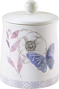 Avanti Linens Garden Collection, Covered Jar, Multicolor