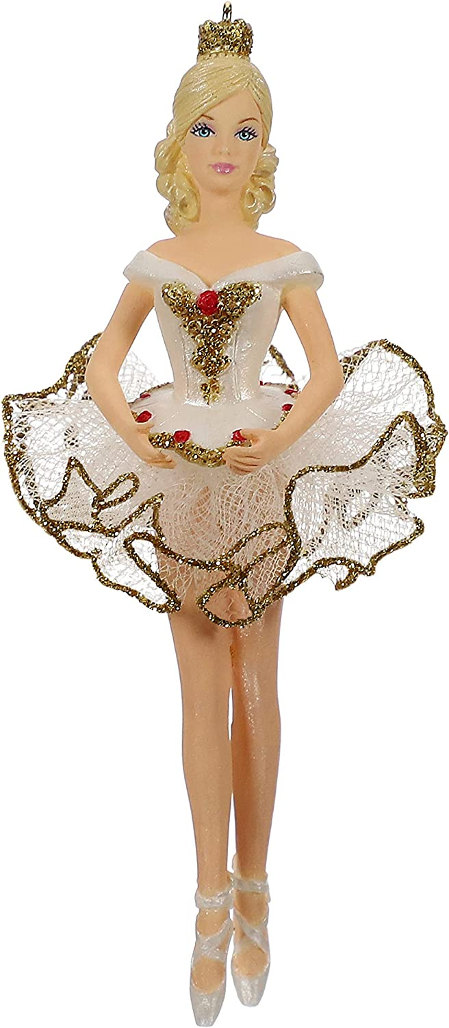Hallmark Keepsake Christmas 2019 Year Dated Barbie Beautiful Ballerina Ornament
