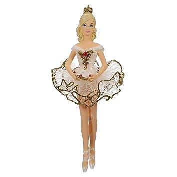 Hallmark Keepsake 2019 Barbie Rainbow Lights Mermaid Ornament With Light