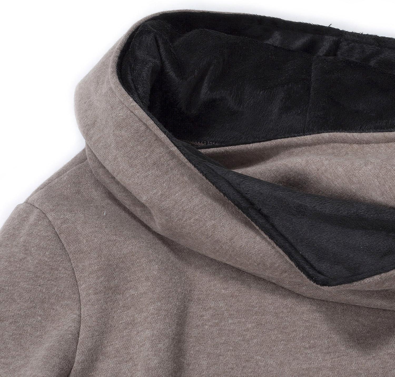 Women Pocket Hoody Hoodie Long Sleeve Hood Sweatshirt Pullover Coat Jumper Top