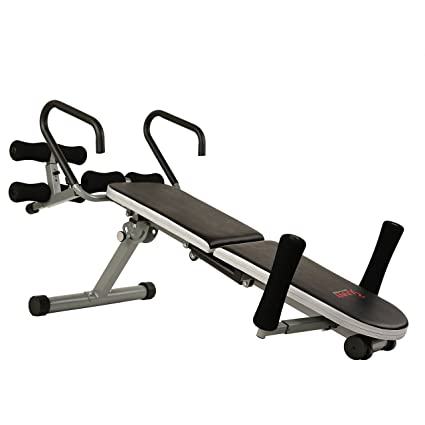 Ordinaire Sunny Health U0026 Fitness Invert Extend N Go Back Stretcher Bench With 350lb  High Weight Capacity