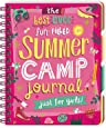 Peaceable Kingdom Best Ever Fun-Filled Summer Camp Journal Just for Girls