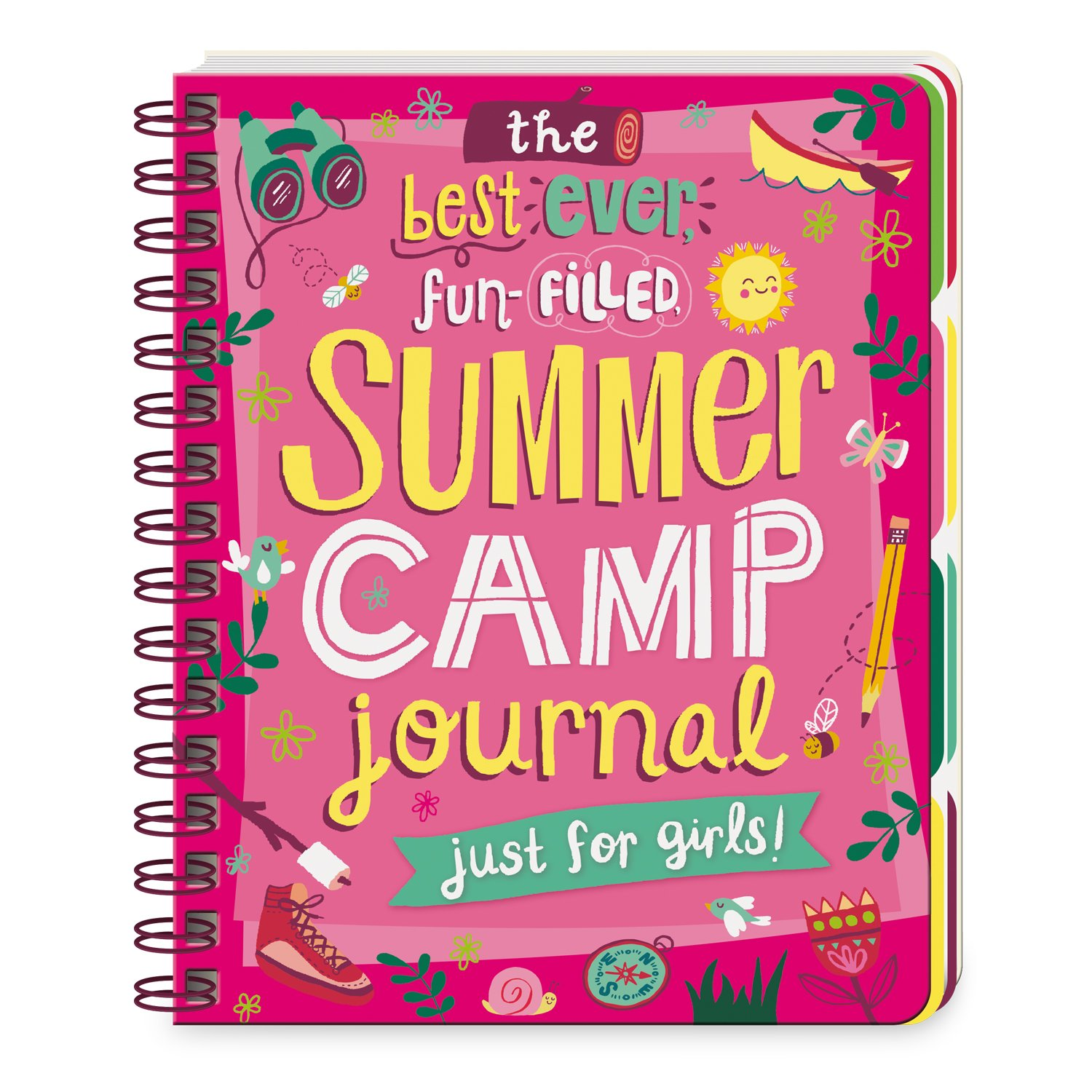 Peaceable Kingdom The Best Ever Fun-Filled Summer Camp Journal Just for Girls by Peaceable Kingdom