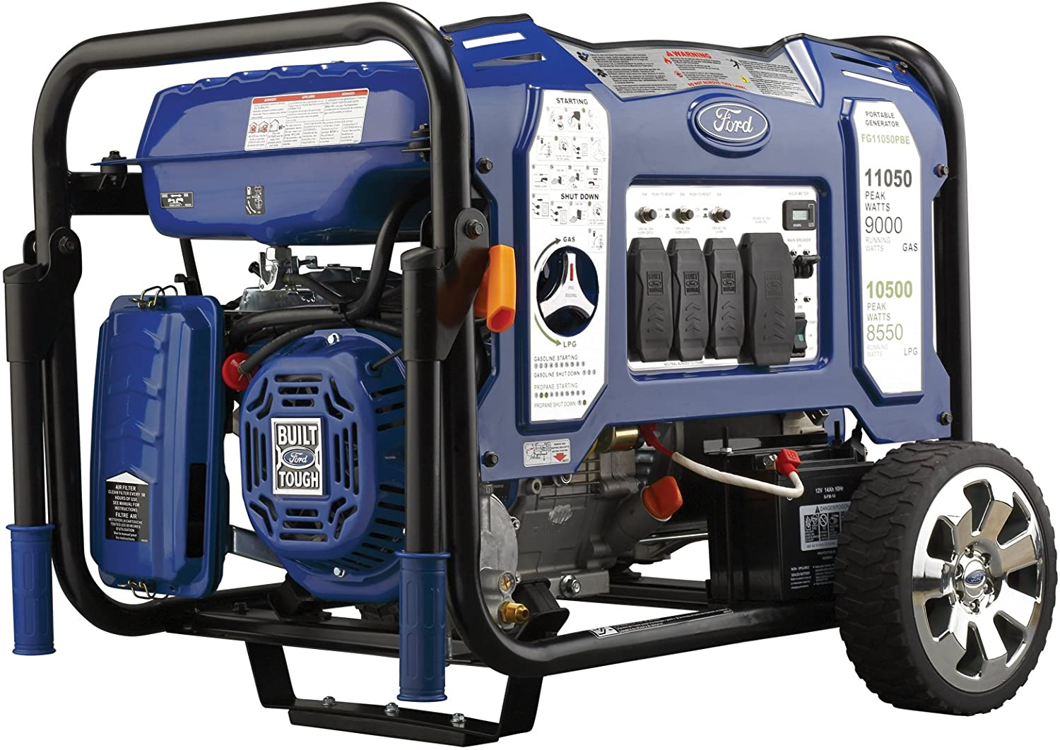 Ford Dual Fuel Portable Generator