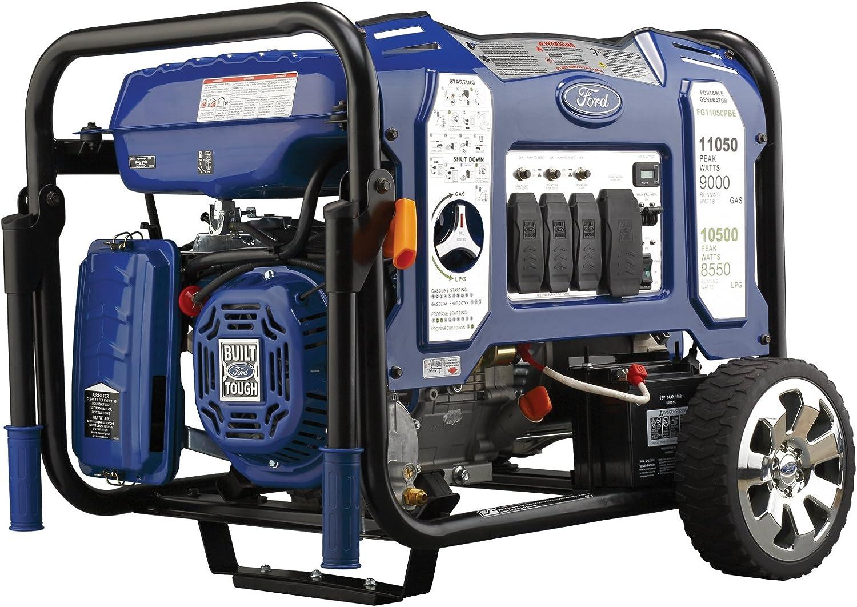 Ford Dual Fuel Portable Generator