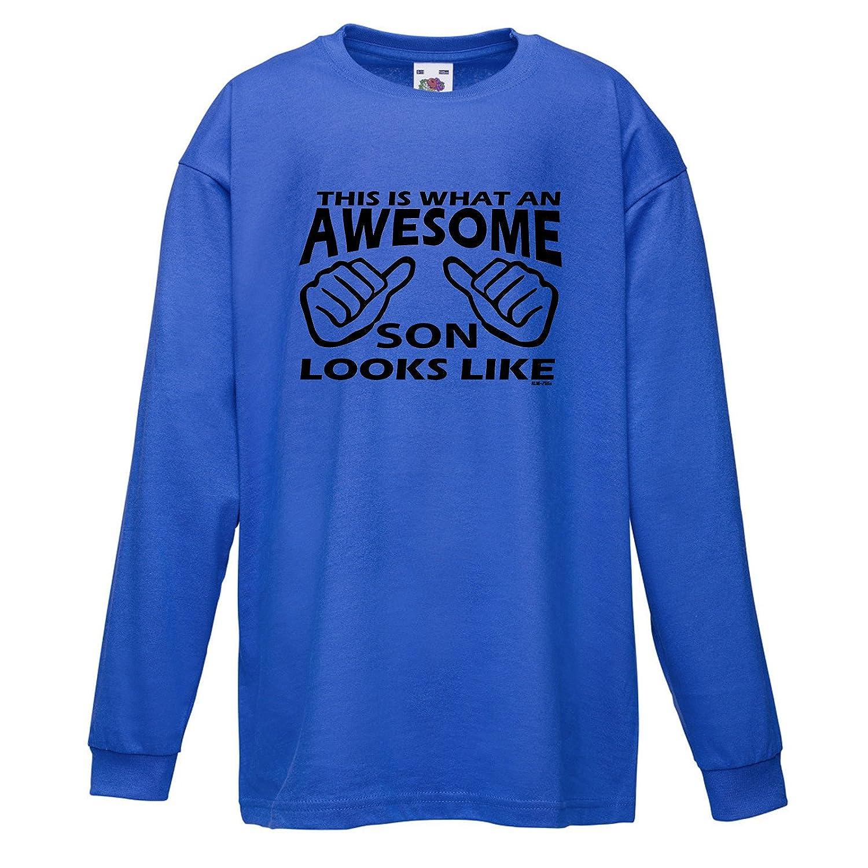 Kinder t-Shirt Awesome Son lustige Shirts Fun Shirt Jungen Geschenke ...