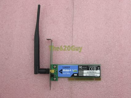 NEW DRIVERS: LINKSYS PCI ADAPTER WMP54GS
