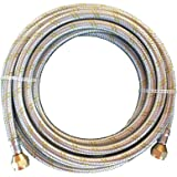 Natural Propane Gas Hose 5ft Stainless Steel Braided Line LP LPG