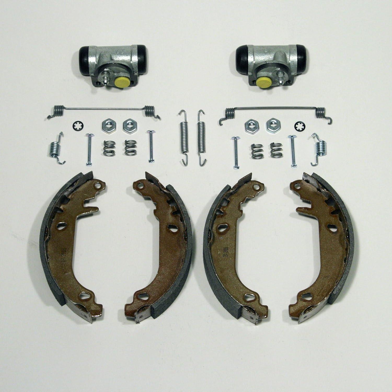 Bremstrommel Bremsbacken Bremsen Set Radlager hinten Renault Clio II mit Abs