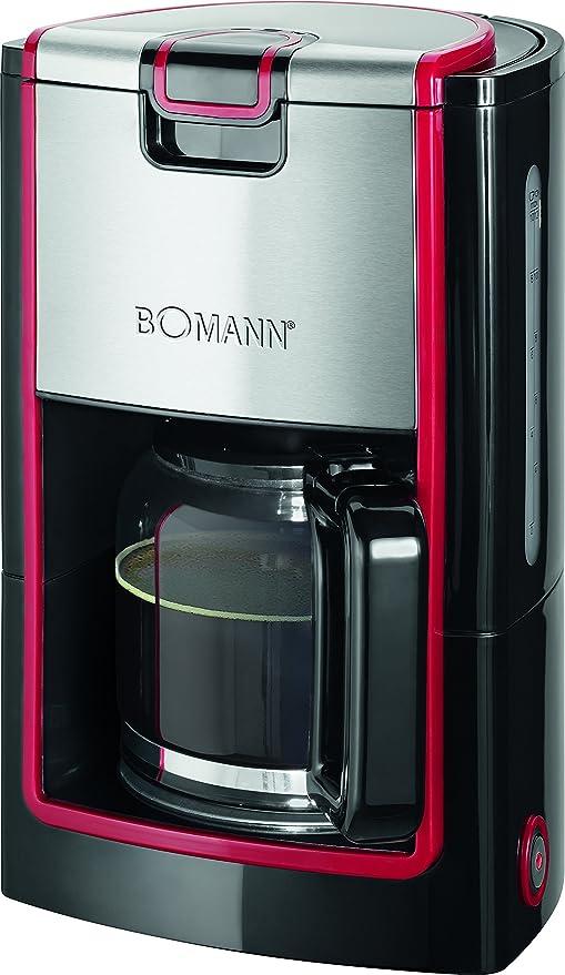 Bomann KA 1565 CB Cafetera eléctrica de goteo, capacidad 8 a 10 ...
