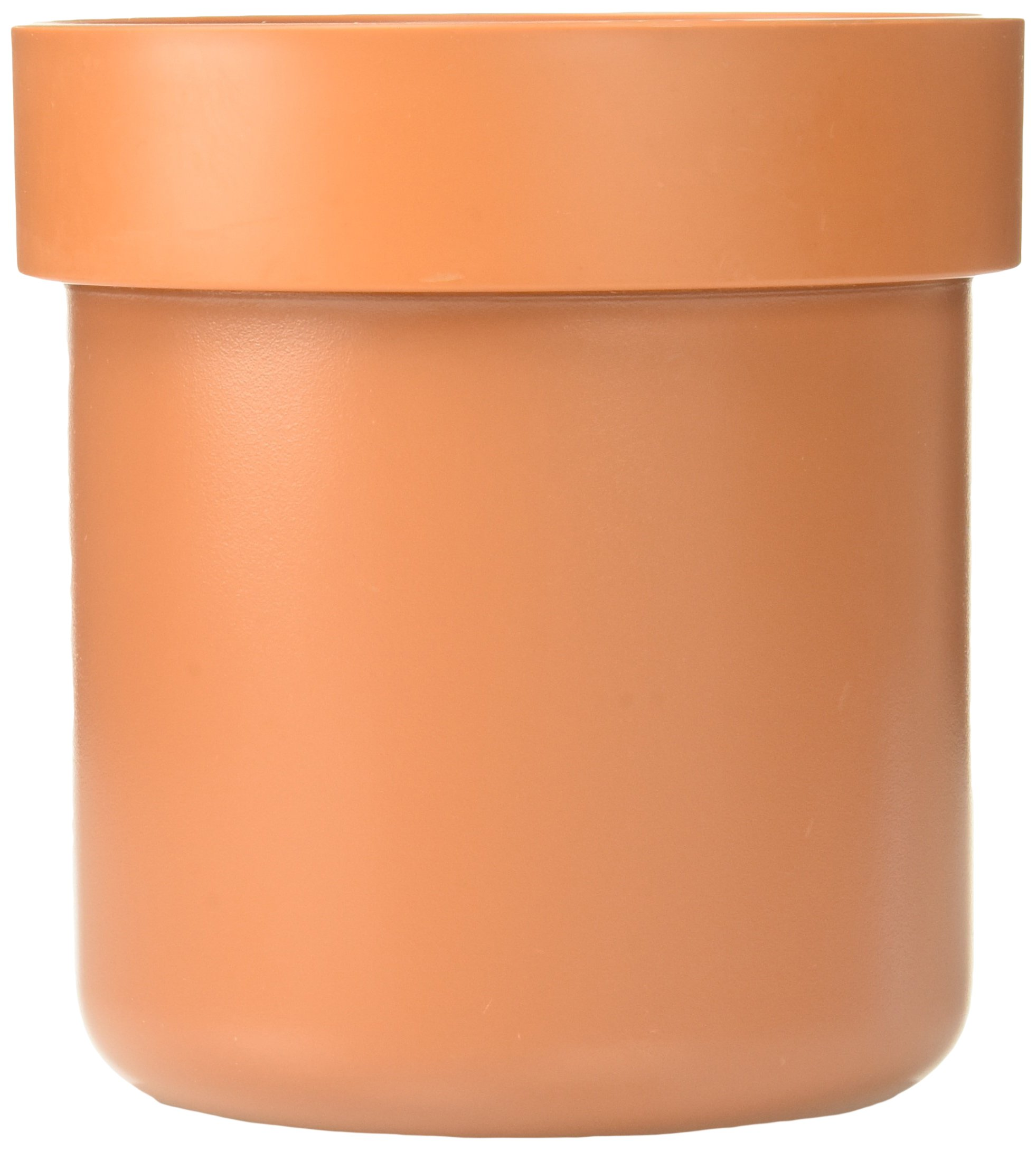 SafeInside 4201 Flower Pot Diversion Safe with Key Lock, Terracotta