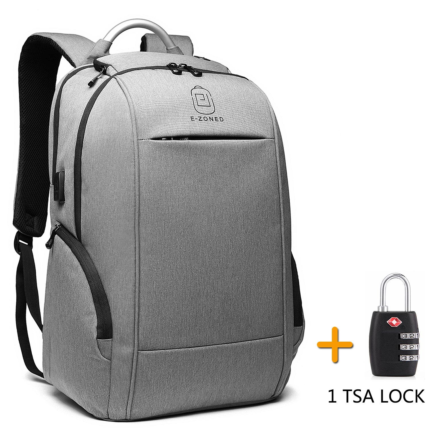 ca220b95b0fc Business Laptop Backpack, 17 Inch Laptop Backpack with TSA Lock ...