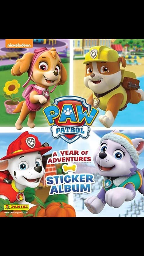 PANINI PAW PATROL SERIE 3 album album vuoto 20 sacchetti 100 Sticker