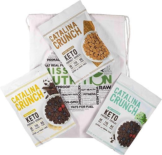 Mission Nutrition paquete variado de cereales Catalina Crunch ...
