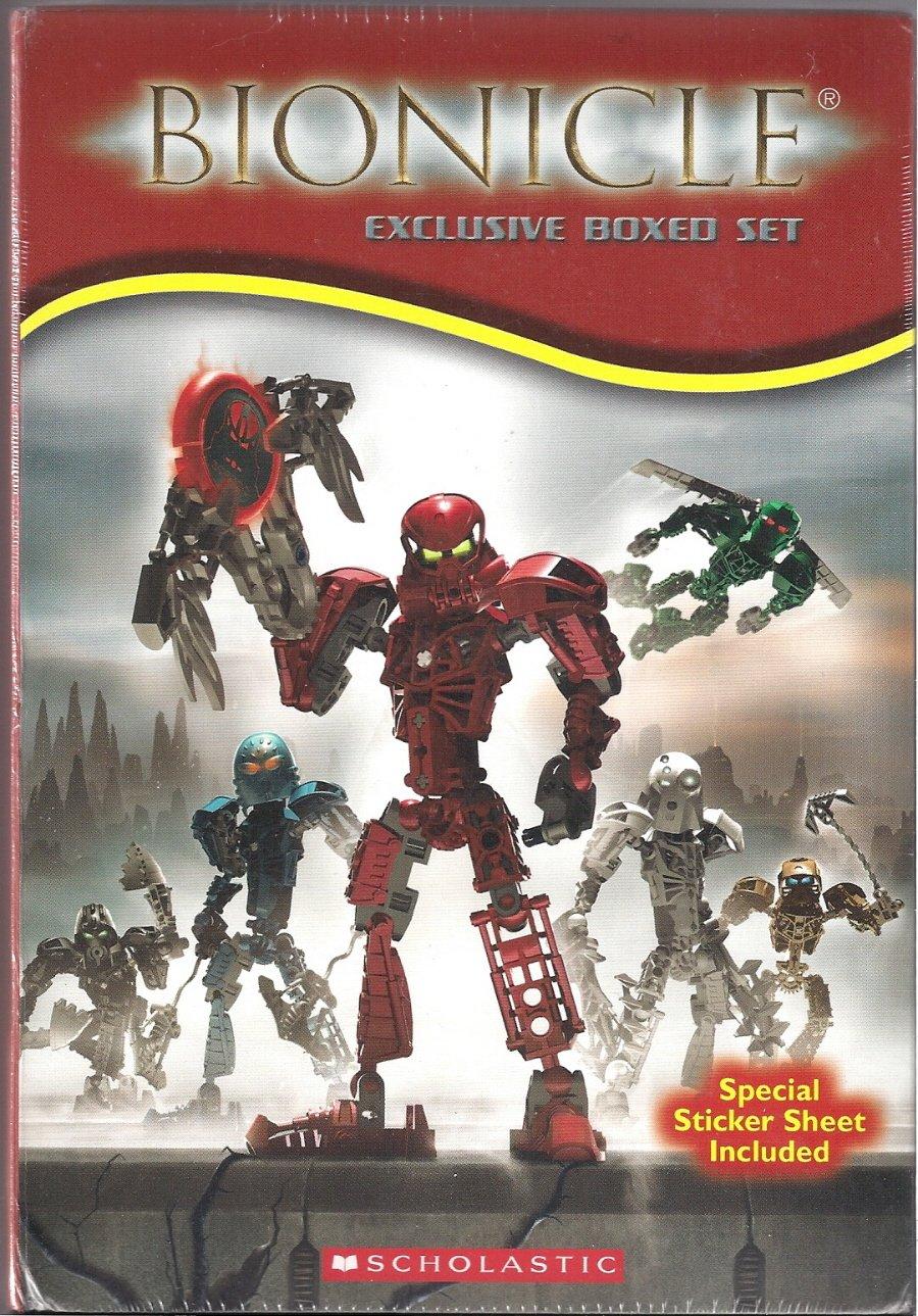 Bionicle Boxed Set: Chronicles 1-4 ; Adventures 1-3 pdf epub