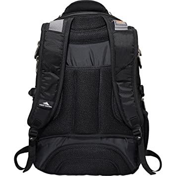 Amazon.com: High Sierra Elite Fly-By TSA Friendly Black Compatible With 17
