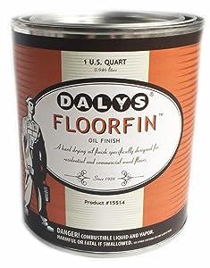 Daly's FloorFin Wood Floor Oil Finish, 1 Quart