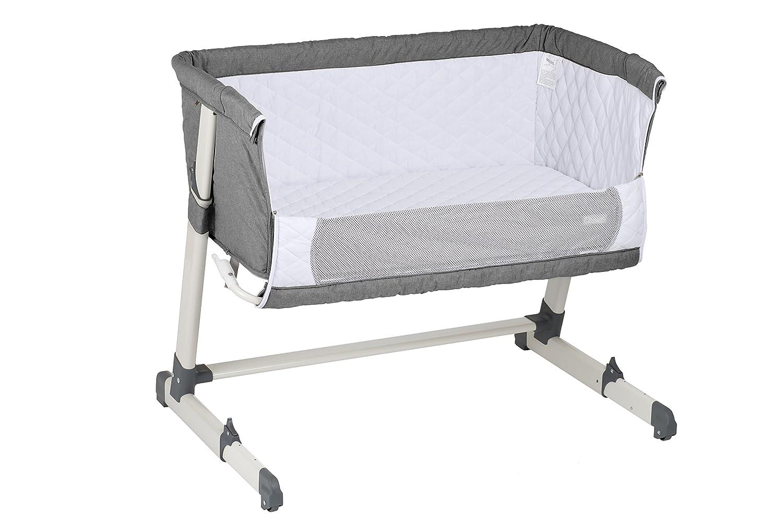 Babygo 4601 beistellbett together babybett incl matratze und polster