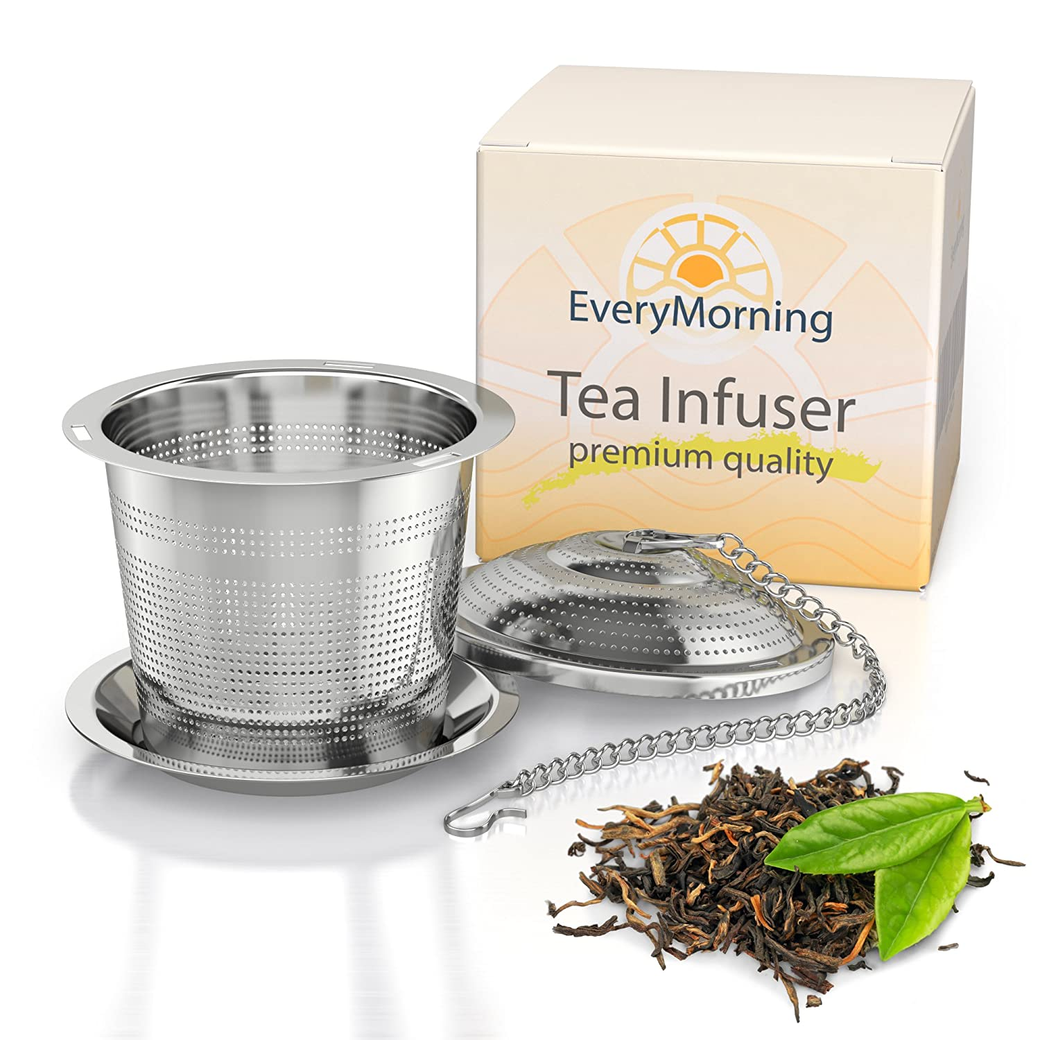 Deluxe Loose Leaf Tea Infuser.