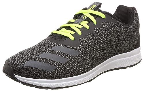 3b65df838 Adidas Men s Adispree 4.0 Cblack Grefiv Syello Running Shoes-10 UK India