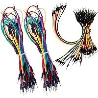 HUAYAO 195Piezas Jumper Cable, Alambres Flexibles de Puente para Tableros de Soldadura Sin Soldadura 4 Different Lengths…