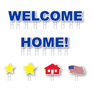 Amazon.com: Patio tarjeta Bienvenido a casa. All-weather ...