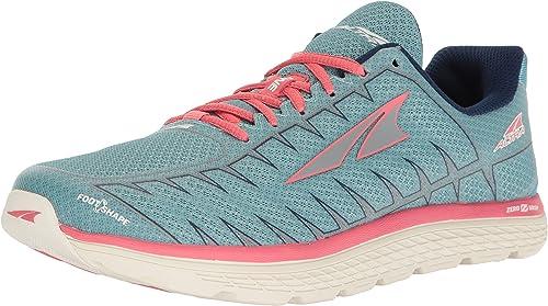 ALTRA Mujer Uno V3 Zapatillas Running - Azul/Coral, 8 UK ...