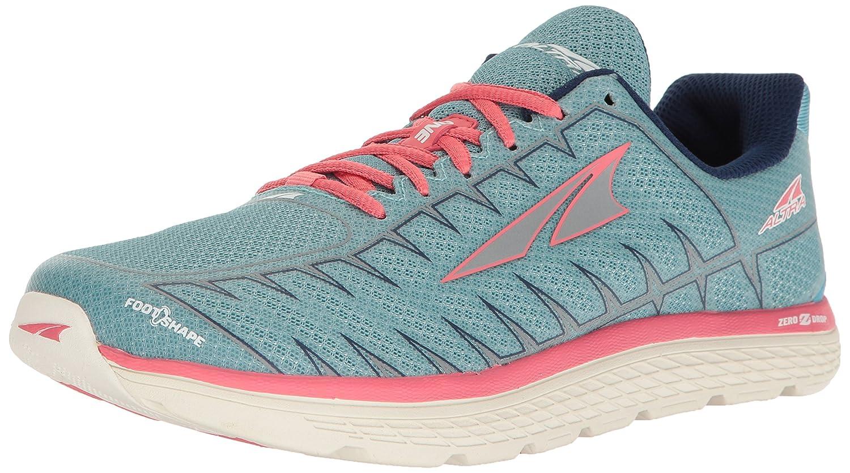 Altra One V3 Women's Road Running Shoe B01MRZVUF3 10 B(M) US|Light Blue/Coral