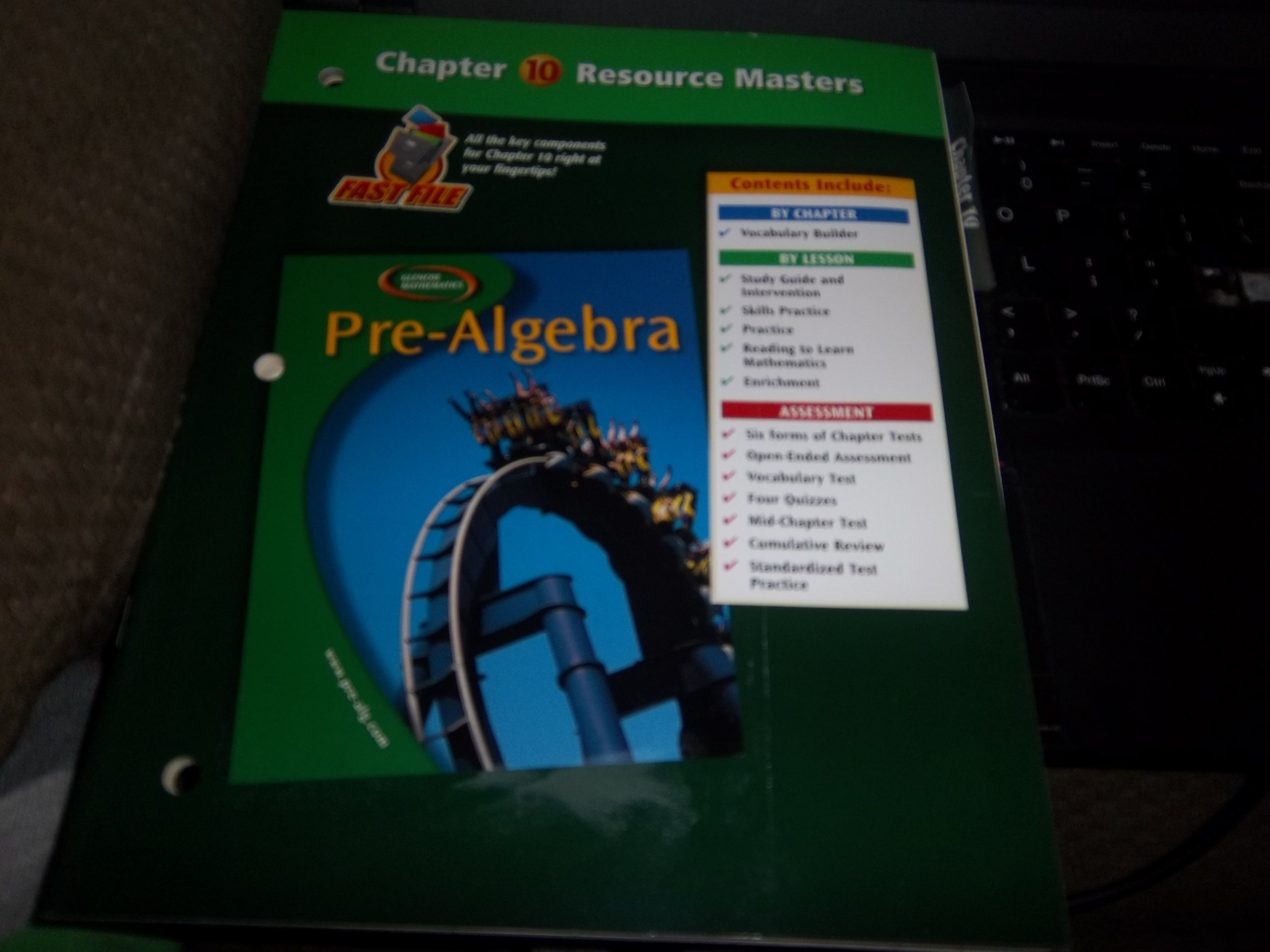 Pre-Algebra, Chapter 10 Resource Masters pdf epub