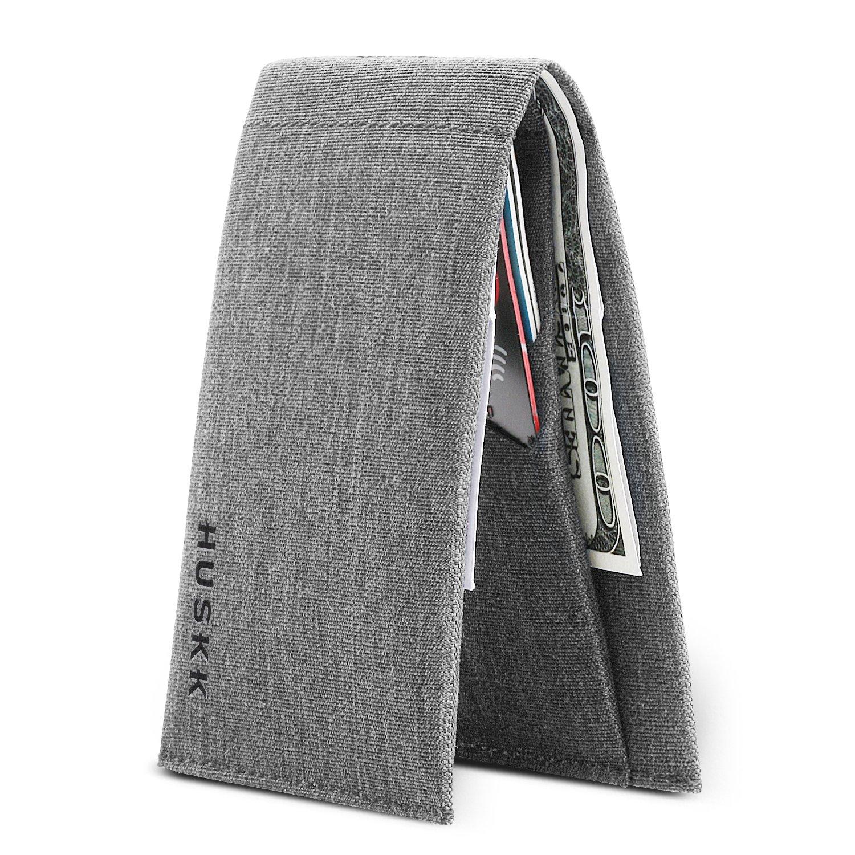 Slim Mens Wallets RFID Minimalist - Wallet Card Holder (OneSize, Light Grey)