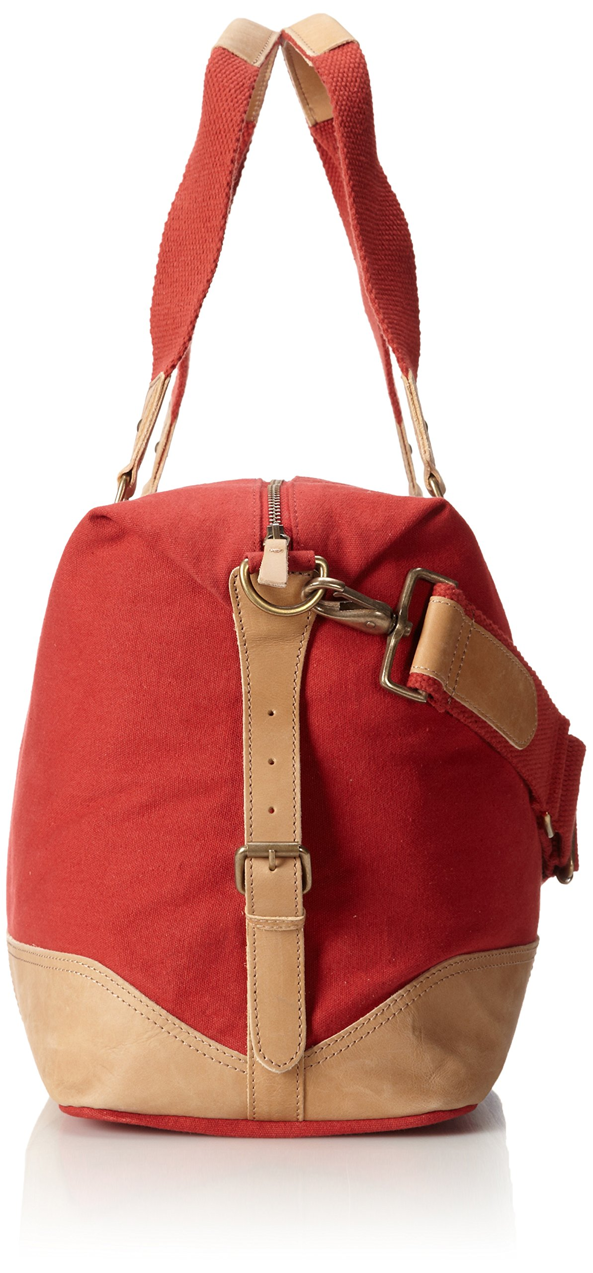 Original Penguin Men's Canvas Weekend Bag Duffel Bag, Pompeian Red, One Size by Original Penguin (Image #3)