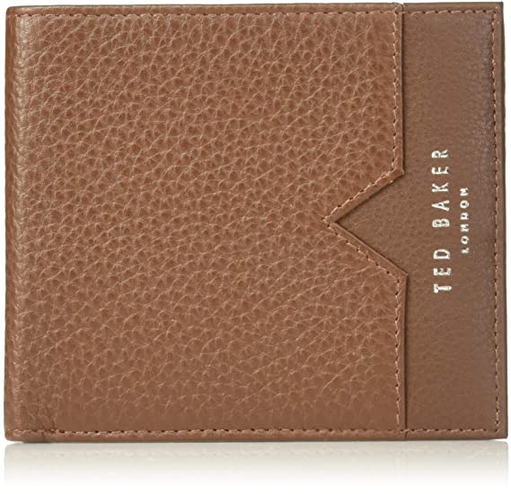 e2fcdb9d4790 Ted Baker Men s LOOEZE Pebble leather wallet Tan