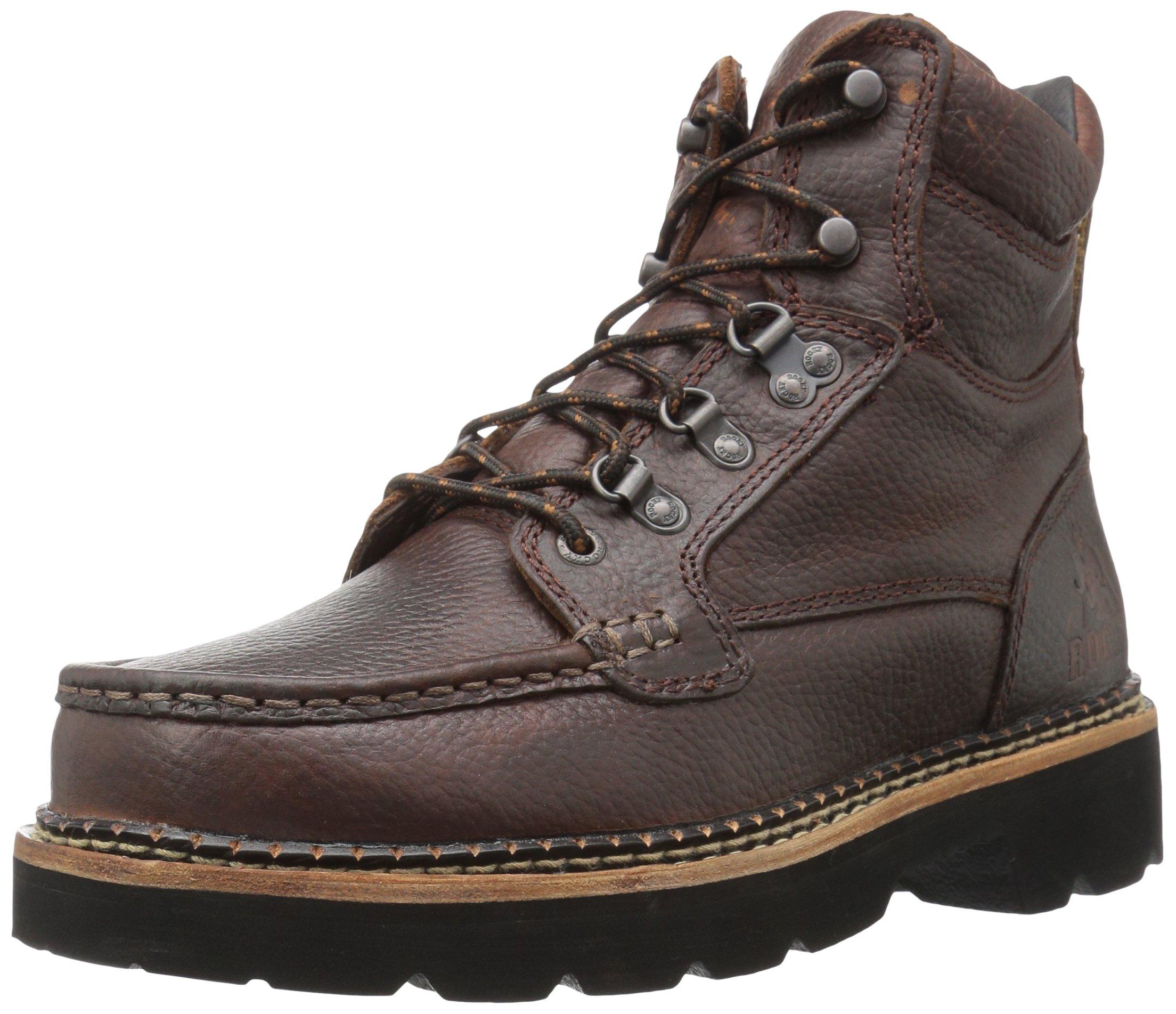 Rocky Men's FQ0002984 Western Boot, Dark Brown, 9 M US