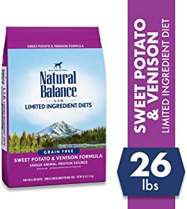 Natural Balance Venison and Potato Dry Dog Food