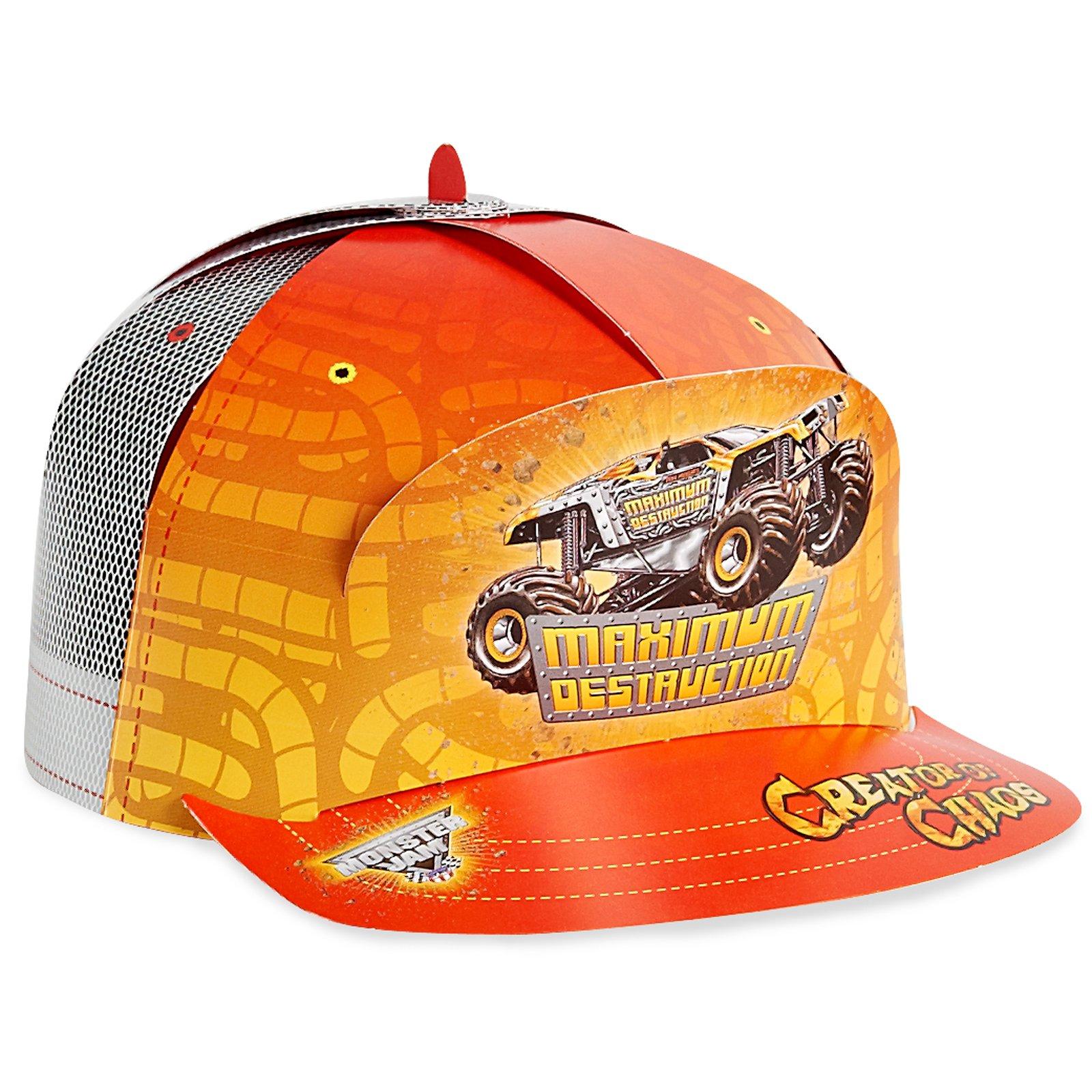 Monster Jam Party Supplies - Trucker Hats (8)