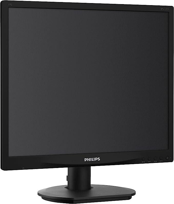 Philips 19s4qab 19 Zoll Sxga Monitor Schwarz Computer Zubehör