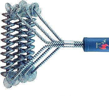 Kona Safe/Clean Bristle Free Barbecue Grill Brush