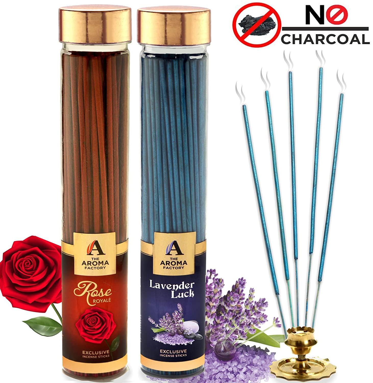 Jasmine 6 Boxes X 20 Sticks Each Patchouli /& Citronella Chandan Lavender Rose 120gm Total HEM Best Fragrance Incense Sticks