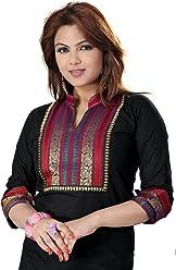 Unifiedclothes Women Fashion Printed Short Indian Kurti Tunic Kurta Top Shirt Dress EX01D