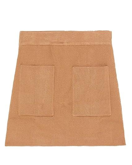 a5923f1e Zara Women's Mini Skirt with Pockets 5536/006 Brown: Amazon.co.uk ...