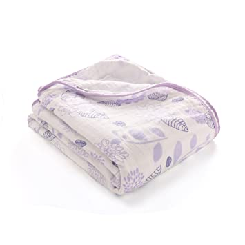 Muslin Swaddle Blankets-Baby Swaddling Wrap,Double Layers Muslin Blankets Large Muslin Swaddle,