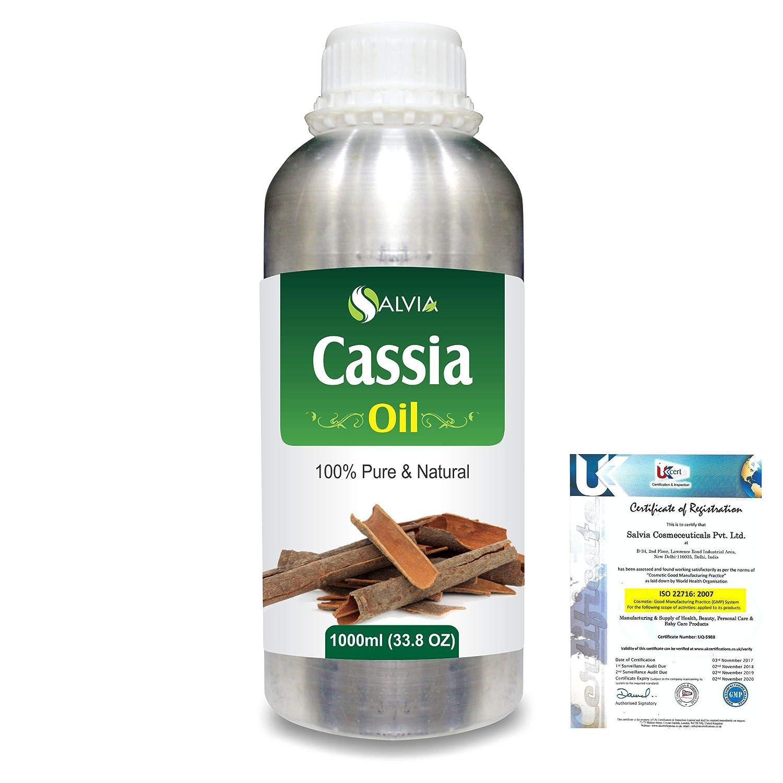 Cassia (Cassia fistula) 100% Natural Pure Essential Oil 1000ml/33.8fl.oz. B07R17794M