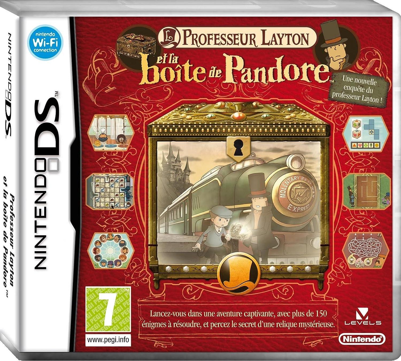 Professeur Layton et la Boîte de Pandore   Nintendo