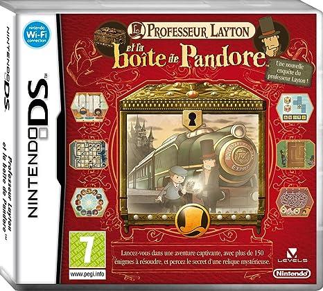 mode de luxe images officielles vente en ligne Professeur Layton et la boîte de Pandore: Amazon.fr: Jeux vidéo