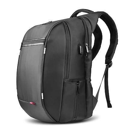 check-out 47942 0ba2f Sac à Dos, SPARIN Sacoche Ordinateur Portable 17.3 Pouces Laptop Backpack  Avec [Port USB], Sac à Dos Voyage, Sac Business Pour Hommes, Noir