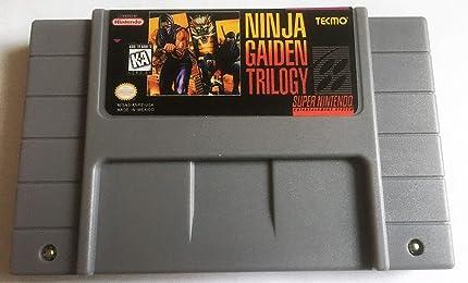 Amazon.com: Ninja Gaiden Trilogy (Super Nintendo, SNES ...