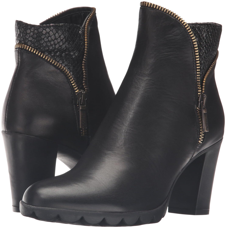 The FLEXX Women's Dip Body Ankle Bootie B01COKHOQG 10 B(M) US|Black/Canna Di Fucile Cashmere/Stellato