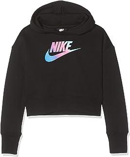 Nike Mädchen G NSW Crop Pe Air Sweatshirt: : Bekleidung